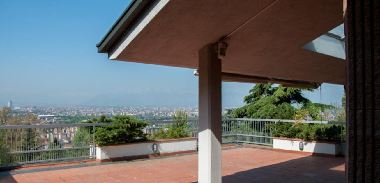Attico signorile, vista impareggiabile su Torino e arco alpino ...